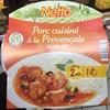 Porc cuisiné à la Provençale et son riz - Produit