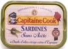 Sardines sans arête à l'huile d'olive vierge extra - Product