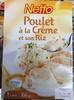 Poulet à la Crème et son Riz - Product