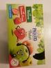 compote de pomme allégée en sucres et compote pomme fraise allégée en sucres - Product
