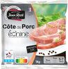 Côte de porc échine - Produit