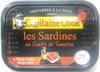 Les Sardines au confit de tomates, à l'huile d'olive vierge extra - Product