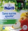 Spécialité de frutis pomme sans sucres ajoutés - Product