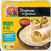Saveur du Mexique - Galette de blé Wraps - Produit
