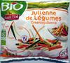 Julienne de légumes bio surgelé Saint Eloi - Prodotto