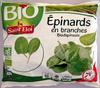 Epinards en branches Bio - Product