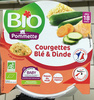 Courgettes Blé & Dinde - Product