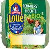 4 œufs fermiers bio - Produit