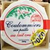 Coulommiers sur paille au lait cru (23% MG) - Produit