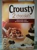 Crousty 2 chocolats - chocolat noir et chocolat blanc - Produit