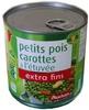 Petit pois carottes à l'étuvée extra fins - Product