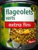 Flageolets verts extra fins - Produit