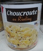 Choucroute au riesling - Product