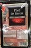 Filet de bacon fumé 10 tranches - Produit