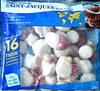 Petites noix de Saint-Jacques avec corail surgelées - Produit