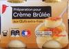 Préparation pour Crème Brûlée aux Œufs-frais - Product