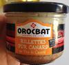 Rillettes pur canard au foie de canard - Product