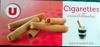 Cigarettes croustillantes - Produit