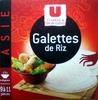 U Cuisines & Découvertes Galettes de riz - Produit