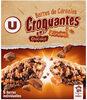 Barres croustilllantes au caramel et chocolat - Product