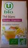 Thé blanc mangue gingembre - Product