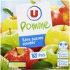 Pommes sans sucres ajoutés - Produit
