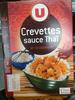 Crevettes sauce Thaï et riz basmati - Product