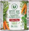 Petits pois extra fins et carottes à l'étuvée - Produit