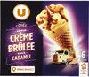 Cônes saveur crème brûlée - Product