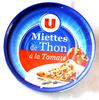 Miettes de Thon à la Tomate - U - Produit