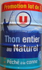Thon entier, au naturel, pêché à la canne Promo lot de 3 - Producto