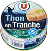 Thon en tranche au naturel pêché à la ligne - Prodotto