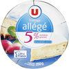 Fromage léger au lait pasteurisé 5%MG - Product