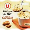 Gâteaux de riz nappés de caramel - Produit