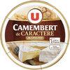 Camembert de Caractère au Lait Pasteurisé 21%MG - Product