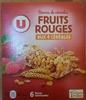 Barres de céréales Fruits Rouges aux 4 céréales - Produit