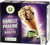 Cônes vanille praliné - Product