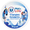 Fromage pasteurisé triangles fondants fromagers 5%mg - Prodotto