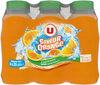 Boisson aux jus de fruits plate orange - Product