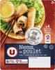 Nems au poulet x4 + sauce nuoc mam - Product