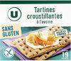 Tartines croustillantes à l'avoine - Produit