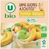 Purée pomme banane sans sucres ajoutés - Product