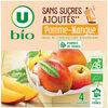 Purée pomme mangue sans sucres ajoutés - Product
