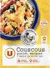 Couscous légumes poulet semoule de blé et merguez - Product