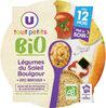 Assiette soir legumes du soleil et boulghour U_TOUT_PETITS Bio - Produkt