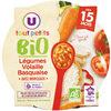 Assiette de légumes et volaille basquaise U_TOUT_PETITS Bio - Produkt