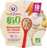 Assiette de blanquette de volaille U_TOUT_PETITS Bio - Product