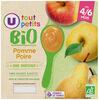 Pots dessert pomme poire U_TOUT_PETITS Bio - Product