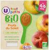 Pots dessert aux fruits du soleil U_TOUT_PETITS Bio - Produit