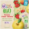 Gourdes pomme/banane/fraise - Produit